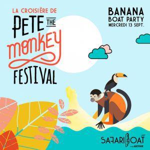 Concert Banana Boat Party - La Croisière de Pete The Monkey à PARIS @ Safari Boat with Asics Tiger - Billets & Places