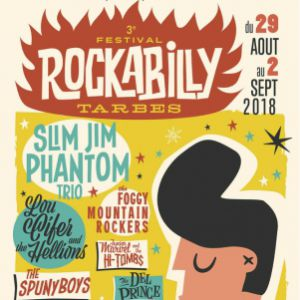 3e Festival Rockabilly Tarbes Vendredi @ Sous chapiteau - Place Jean Jaurès - Tarbes - TARBES