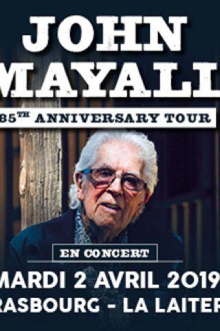"""Concert JOHN MAYALL """"85th Anniversary Tour 2019"""" à Strasbourg @ La Laiterie - Grande Salle - Billets & Places"""