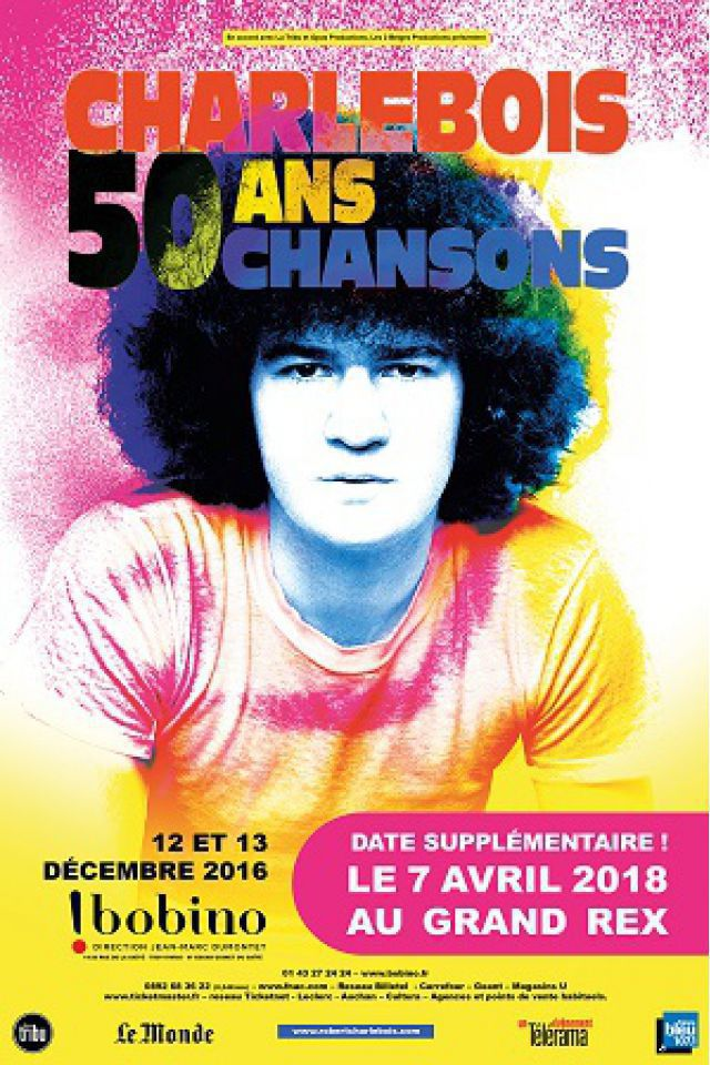 Robert Charlebois @ Le Grand Rex - Paris