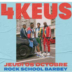 Hip Hop Boombox: 4Keus + Invité