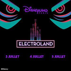 Electroland 2020 Plus Disney Dimanche