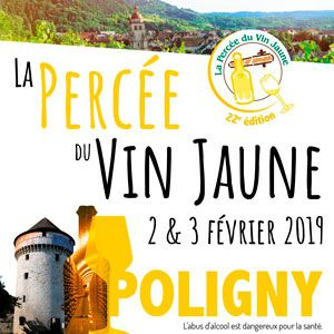 PERCEE DU VIN JAUNE 2019 / PASS WEEK END @ PLEIN AIR - POLIGNY
