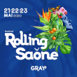 FESTIVAL ROLLING SAONE 2020 - PASS 3 JOURS
