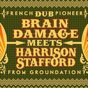 Brain Damage meets Harrison Stafford (from Groundation) @ LA MOBA - BAGNOLS SUR CÈZE