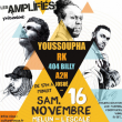 Concert LES AMPLIFIES : YOUSSOUPHA + RK + 404 BILLY + A2H + JOSUE à MELUN @ Escale NN - Billets & Places