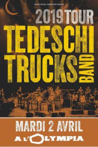 Concert TEDESCHI TRUCKS BAND à Paris @ L'Olympia - Billets & Places