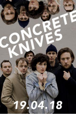 Concert CONCRETE KNIVES à MARSEILLE @ Le Molotov - Billets & Places