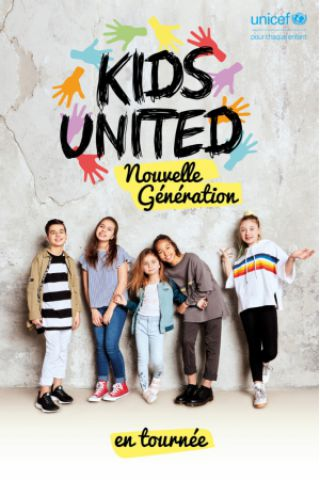 Concert KIDS UNITED - NOUVELLE GENERATION à Montbeliard @ L'Axone - Billets & Places