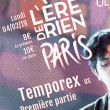 Affiche Temporex + 1ère partie