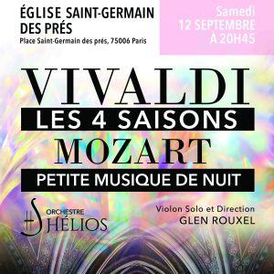 Vivaldi Les 4 Saisons / Mozart Petite Musique De Nuit