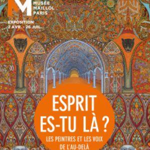 Visite Expo Esprit,Es-Tu La?Les Peintres Et Les Voix De L'au-Delà