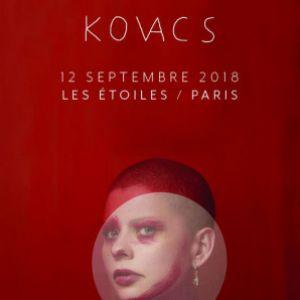 KOVACS @ THEATRE LES ETOILES - Paris