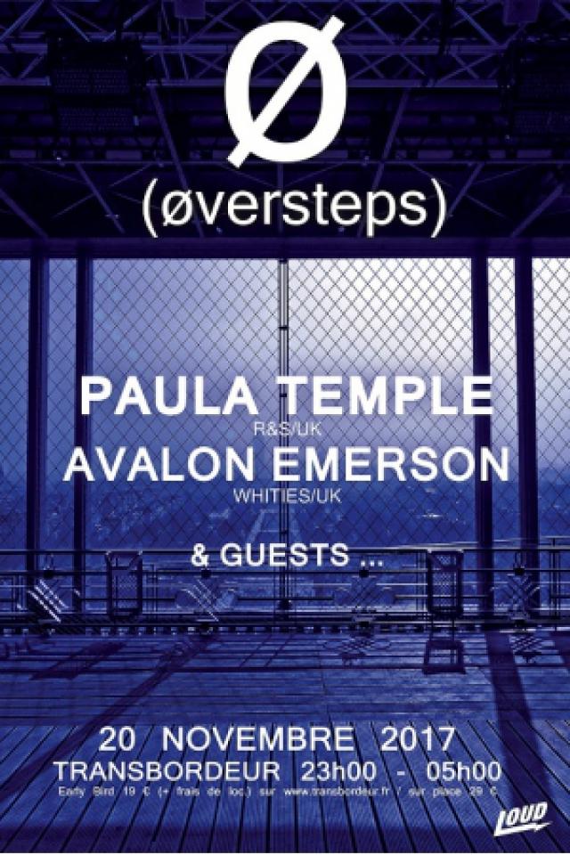 ØVERSTEPS - PAULA TEMPE + AVALON EMERSON @ TRANSBORDEUR - Villeurbanne
