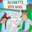 Affiche Alouette fête noël