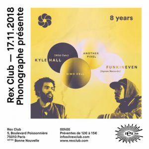 PHONOGRAPHE CORP 8 YEARS @ Le Rex Club - PARIS