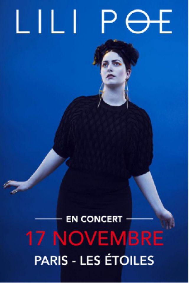Concert LILI POE à Paris @ THEATRE LES ETOILES - Billets & Places