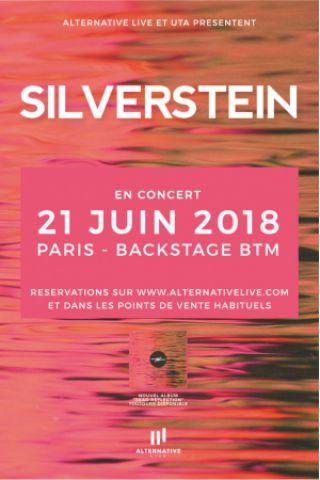 Concert SILVERSTEIN + DIZORDER