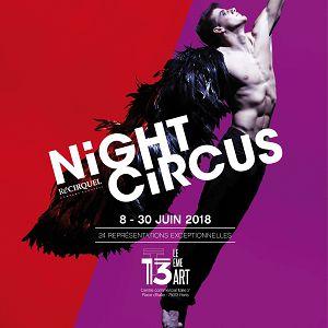Night Circus @ THÉÂTRE LE 13ÈME ART - PARIS