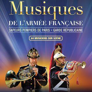 Spectacle MUSIQUES DE L'ARMEE FRANCAISE