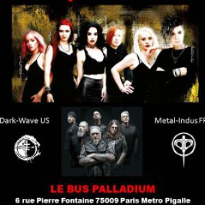 THE CRUXSHADOWS + TREPONEM PAL @ Le Bus Palladium - PARIS