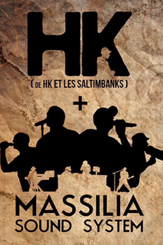 MASSILIA SOUND SYSTEM + HK + OMAR ET MON ACCORDEON @ TRANSBORDEUR - Villeurbanne