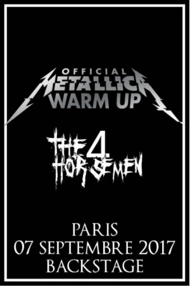 METALLICA OFFICIAL WARM UP ! @ Le Backstage by The Mill - Paris