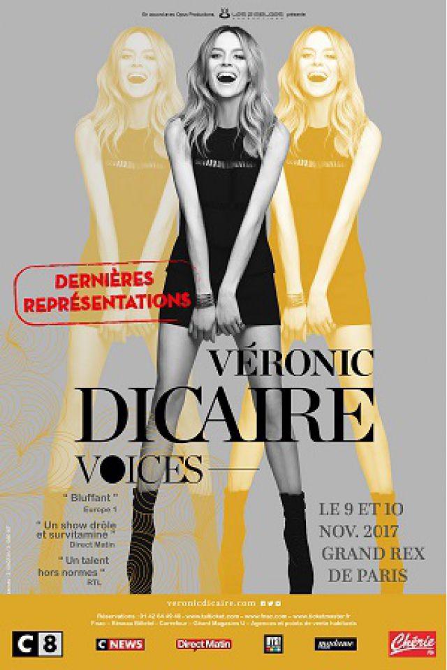 Véronic DiCaire - « Voices 2017 » @ Le Grand Rex - Paris