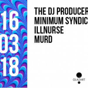 Open Minded Party: The DJ Producer @ Glazart - PARIS 19