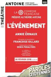 Billets L'évènement - Théâtre Antoine