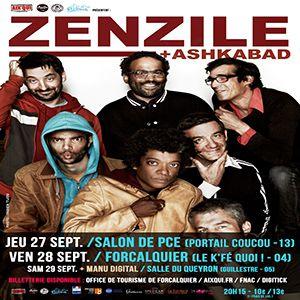 ZENZILE @ Café-Musiques PORTAIL COUCOU - Salon de Provence