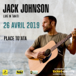 Concert JACK JOHNSON à Papeete @ PLACE TO'ATA - Billets & Places