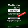 Concert MOLECULE -22.7°C  LIVE 360° à Paris @ La Gaîté Lyrique - Billets & Places