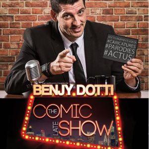 Benjy Dotti Dans Comic Late Show