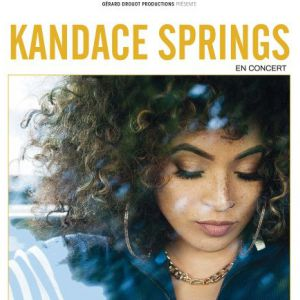 KANDACE SPRINGS @ New Morning - Paris
