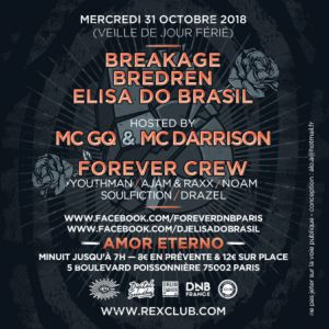 FOREVER @ Le Rex Club - PARIS