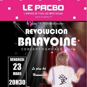 REVOLUCION BALAVOINE @ LE PACBO - ORCHIES