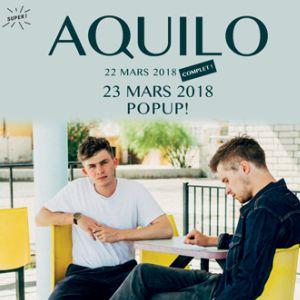 Aquilo @ Pop-Up! - PARIS