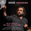 """Concert ANDRE MANOUKIAN """"A la recherche des notes qui s'aiment"""""""
