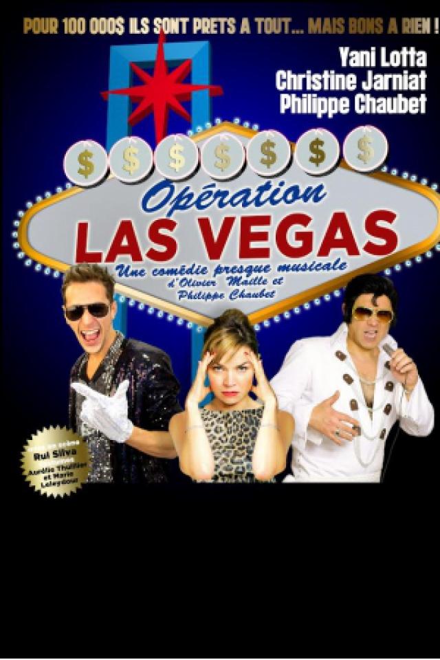 OPERATION LAS VEGAS @ LE K - KABARET CHAMPAGNE MUSIC HALL - TINQUEUX
