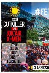 Soirée Hip-Hop Celebration avec Cut Killer, X-Men (live), Jok'Air (live)