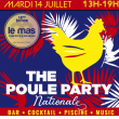 Soirée THE POULE PARTY NATIONALE à Puget S/ Argens @ Le Mas des Escaravatiers - Billets & Places