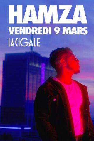 Concert HAMZA à Paris @ La Cigale - Billets & Places