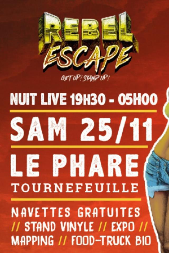Concert Rebel Escape #2 à Tournefeuille @ Le Phare - Billets & Places
