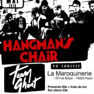 Hangman's Chair + Team Ghost @ La Maroquinerie - PARIS
