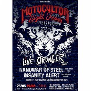 Live Stronger Tour X Motocultor Night Fever