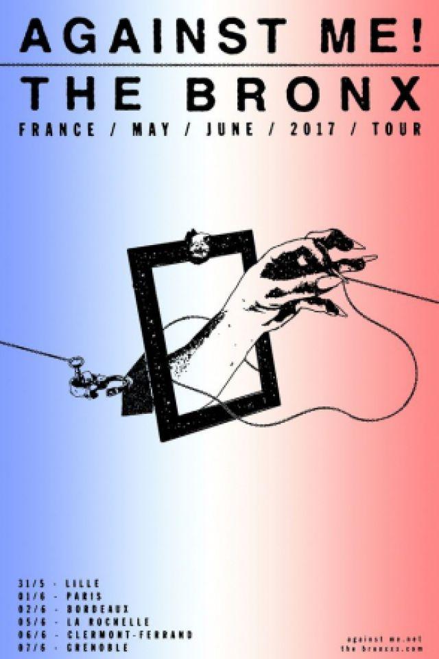 Concert AGAINST ME! + THE BRONX à PARIS @ La Maroquinerie - Billets & Places