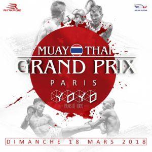 Muaythai Grand Prix @ YOYO - PALAIS DE TOKYO - PARIS