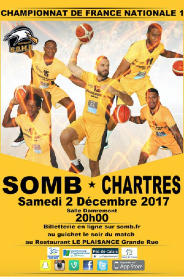 SOMB-CHARTRES @ Salle Damrémont - BOULOGNE SUR MER