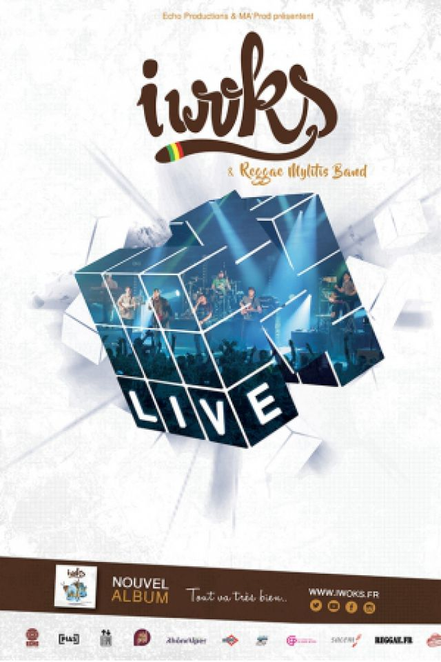 I WOKS & Reggae Mylitis Band (Release party ) @ La Belle Electrique - GRENOBLE
